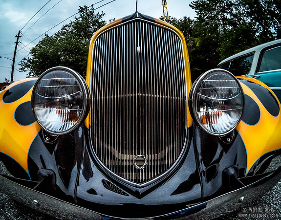 Grill of Fancy Paint    Photography by Wayne Heim