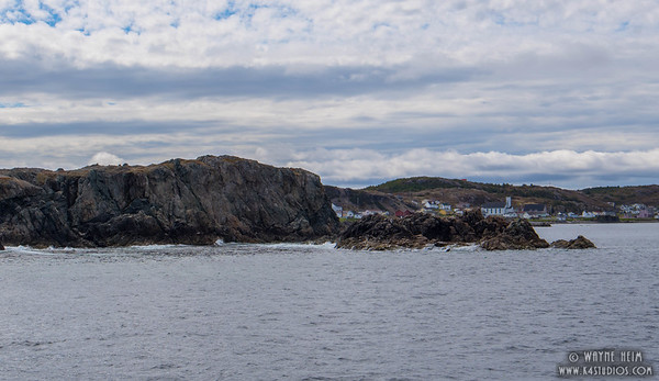Rocky Coastline of Newfoundland   Photography by Wayne Heim