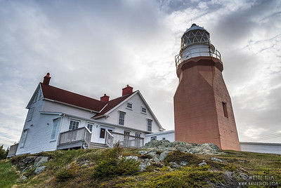 Red Lighthouse      Photography by Wayne Heim