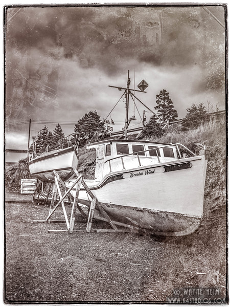 Dry Dock   Black & White Photography by Wayne Heim