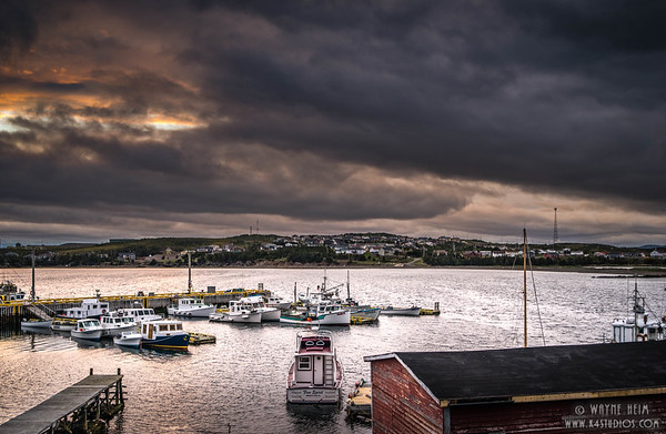 Harbor In the Storm  Photography by Wayne Heim