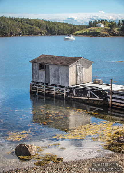 Fishing Shack    Photography by Wayne Heim