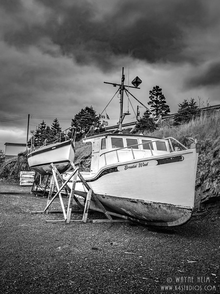 Dry Dock   Black and White Photography by Wayne Heim
