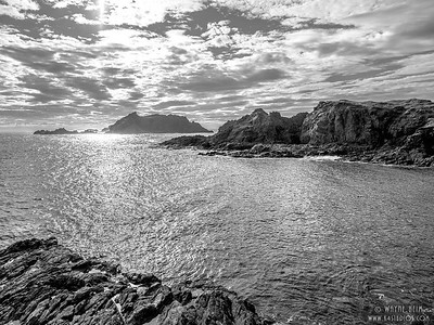 Across the Inlet   black and White Photography by Wayne Heim