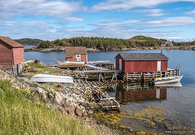 Fishing Huts    Photography by Wayne Heim