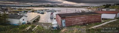 Harbor Panorama  Photography by Wayne Heim