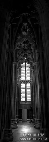 Alcove Window    Black & White Photography by Wayne Heim