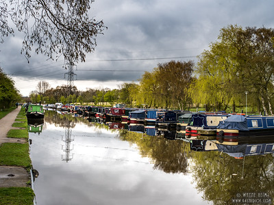 Dockage on the Canal   Photography by Wayne Heim