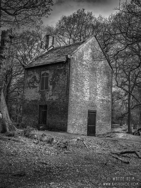 Smoke House     Black & White Photography by Wayne Heim
