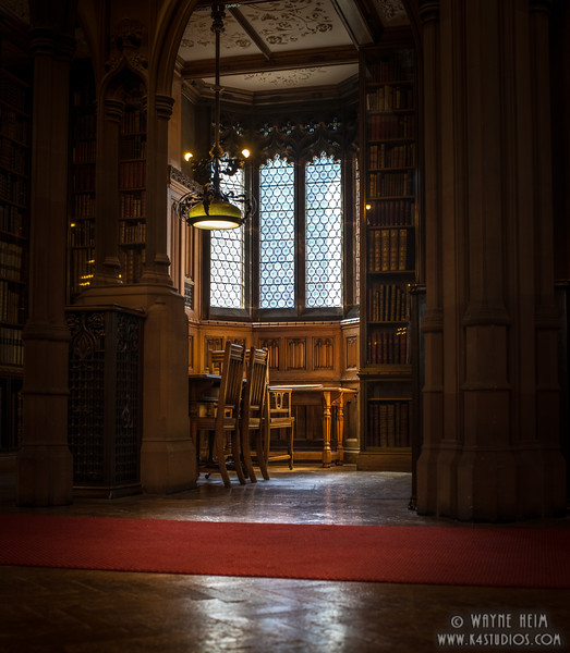Reading Alcove  Photography by Wayne Heim