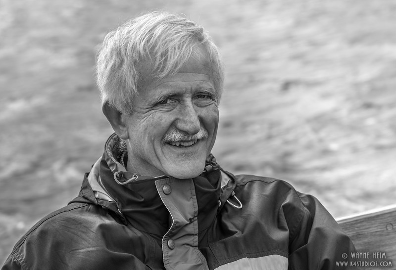 Sailor in Lake District    Black & White Photography by Wayne Heim
