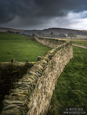 Pasture Wall   Photography by Wayne Heim