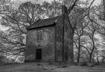Old Smoke House     Black & White Photography by Wayne Heim
