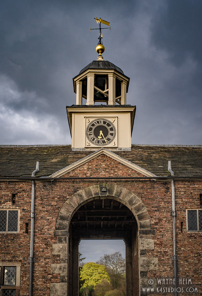 Library Clock Tower    Photography by Wayne Heim