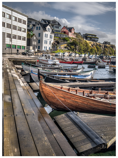 Fishing Boats in Faroe   Photography by Wayne Heim