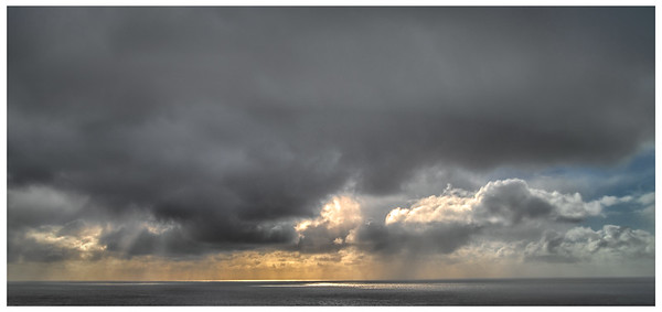 Sunset Over Faroe Sea     Photography by Wayne Heim