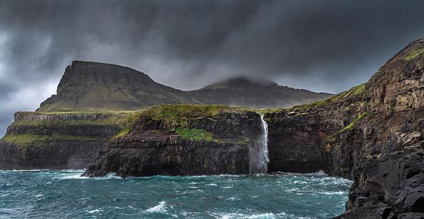 Coastline of Faroes  13  Photography by Wayne Heim