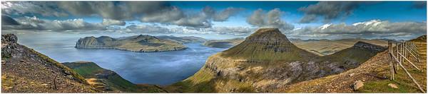 Faroe Panorama    Photography by Wayne Heim