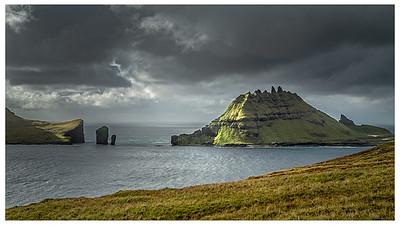 Vagar Island in Faroe Islands   Photography by Wayne Heim