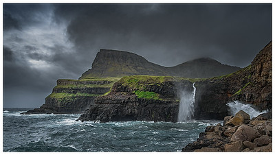 Coastline of Faroes  19  Photography by Wayne Heim