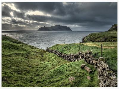 Coastline of Faroes   Photography by Wayne Heim