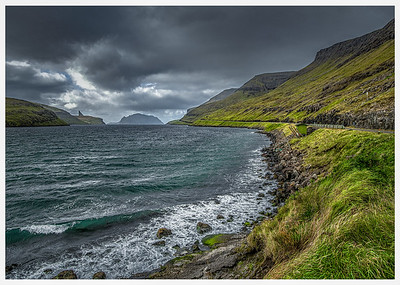 Coastline of Faroes 3 Photography by Wayne Heim