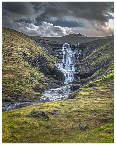 Wide Waterfall   Photography by Wayne Heim