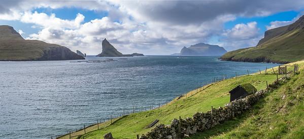 Coastline of Faroes  7    Photography by Wayne Heim