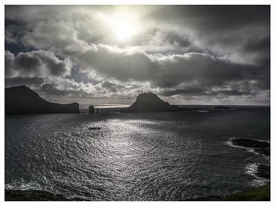 Coastline of Faroes 11   Photography by Wayne Heim