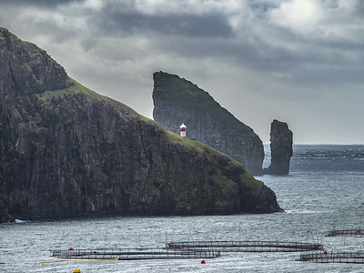 Coastline of Faroes 6  Photography by Wayne Heim