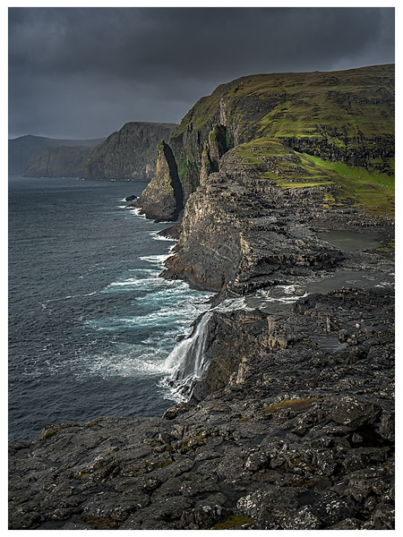 Coast of Faroe  6   Photography by Wayne Heim