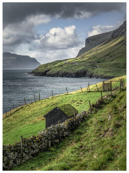 Coastline of Faroes 5  Photography by Wayne Heim