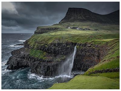 Coastline of Faroes  17     Photography by Wayne Heim