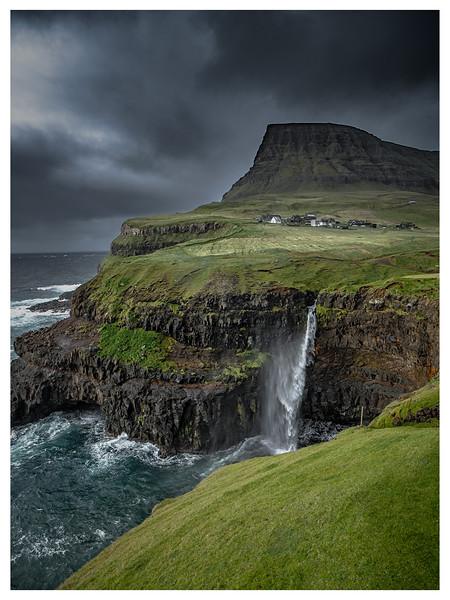 Coastline of Faroes  15    Phototgraphy by Wayne Heim