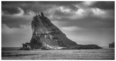 Saksun - Faroe Islands       Black and White Photography by Wayne Heim