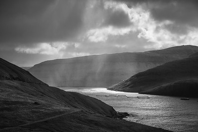 Faroe Bay    Black and White Photography by Wayne Heim