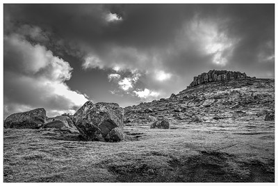 Faroe Landscape 14   Black and white Photography by Wayne Heim