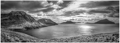 Faroe Coast 19     black and White Photography by Wayne Heim