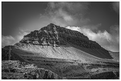 Faroe Landscape 16    Black and White Photography by Wayne Heim