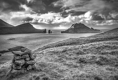 Faroe Coast 10   Black and White Photography by Wayne Heim