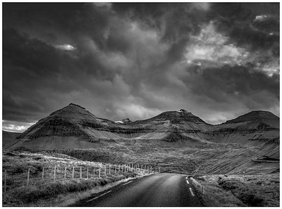 Faroe Landscape 8    black and White Photography by Wayne Heim