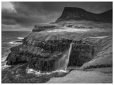 Faroe Landscape 2a  Black and White Photography by Wayne Heim