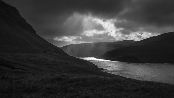 Faroe Bay 2   Black and White Photography by Wayne Heim