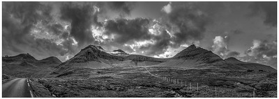 Faroe Landscape 7  Black and White Photography by Wayne Heim