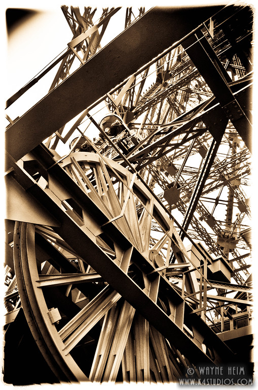 Eiffel Gears. Photography by Wayne Heim
