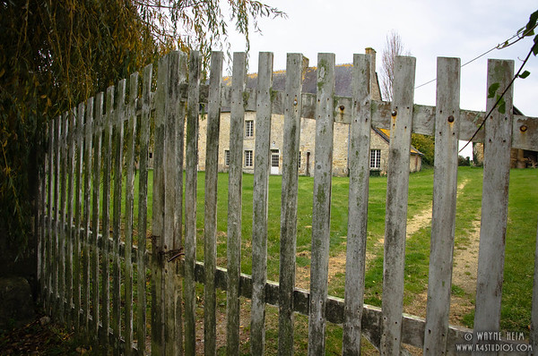 Old Fence in Normandy   Photography by Wayne Heim