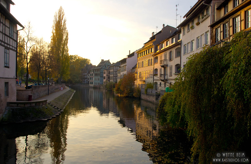 Strasbourg Canal  3      Photography by Wayne Heim
