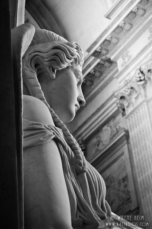 Napoleon's Angel - Black & White Photography by Wayne Heim