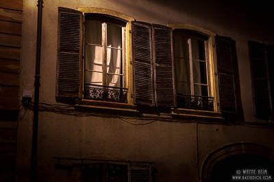 Windows at Night   Photography by Wayne Heim