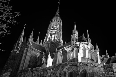 Notre Dame in Black and White   Photography by Wayne Heim